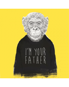 I'm Your Father Monkey Card
