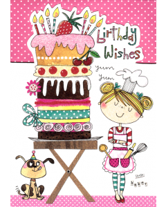 'Birthday Wishes' Card