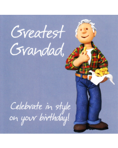 'Greatest Grandad' Card