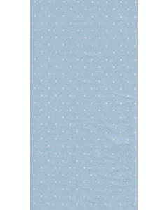 White Dots on Blue Tissue Paper - 3 Sheets