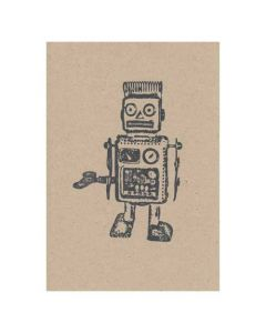 10 x Robot Invitations
