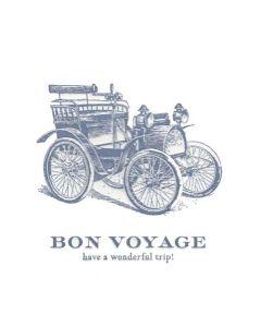 """""""Bon Voyage, have a wonderful trip"""" Card"""