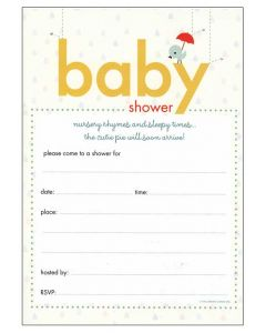 20 x Baby Shower Invitations