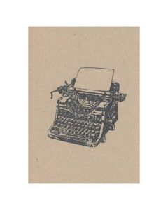 10 x Typewriter Invitations