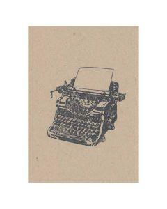 10 x Typewriter Invitations