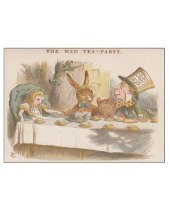 """The Mad Tea Party."" Greeting Card"