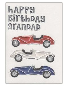 """Happy Birthday grandad"" Greeting Card"