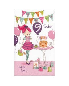 '9 Today' Card