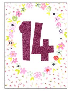 '14' Card