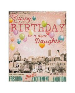 Happy Birthday to a Dear Daughter