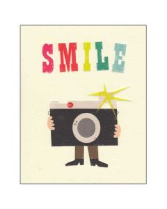 'Smile' Greeting Card