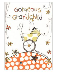 'Gorgeous Grandchild' Card