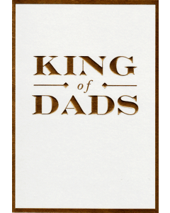 DAD Card - King of Dads
