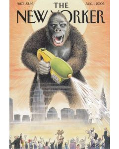 Godzilla The New Yorker Cover August 2005 Card