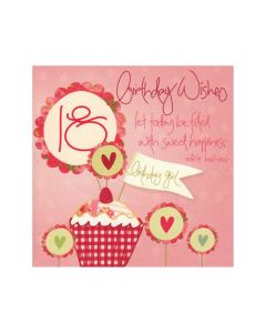 '18 - Birthday Wishes' Card
