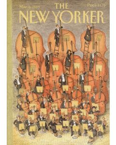 The new yorker cover March 1989 Greeting card