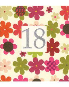 '18' Card
