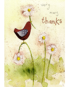 'Very Many Thanks' Card
