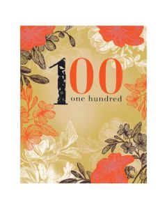 '100 - One Hundred' Card