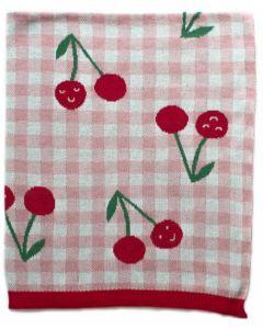 Cheeky Cherries Blanket