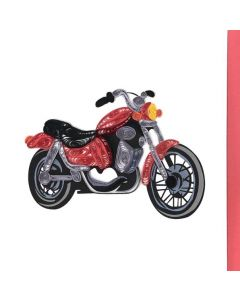 Quilling Card - Red Motorcycle
