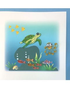 Under the Sea - Quilling Card