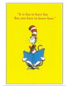 'It is fun to have fun......