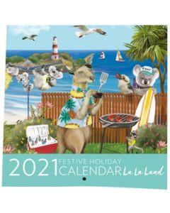 2021 Calendar - Festive Holiday