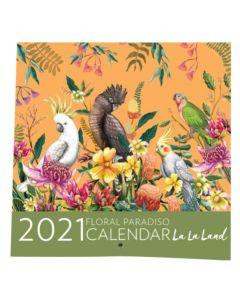 2021 Calendar - Floral Paradiso