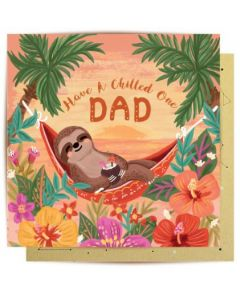 DAD card - Chilled Sloth