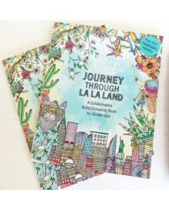 Colouring book - ON SALE - 'Journey through La La Land'