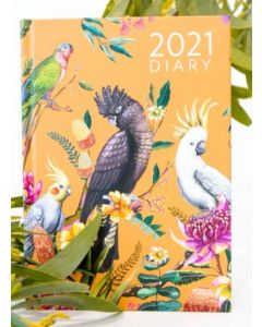 12 month 2021 DIARY - Floral Paradiso