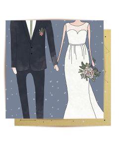 Wedding Card - Wedding Couple