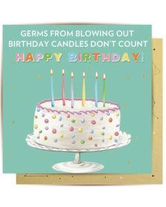 Birthday Card - Germs