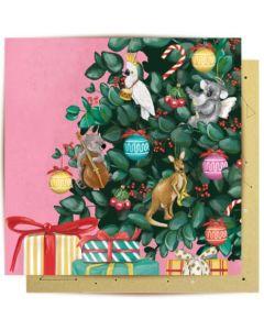 Christmas Card - Musical Critters Joy