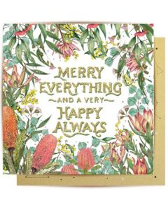 Christmas Card - Merry Everything