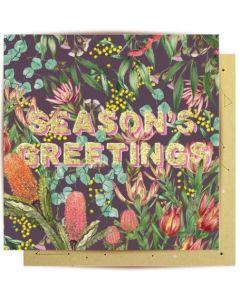 Christmas Card - Season's Greeting Native
