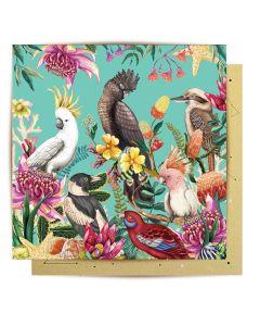 Greeting Card - Birds of Australia