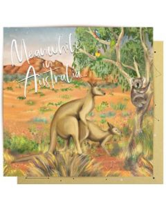 Greeting Card - Meanwhile in Australia