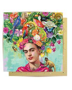 Greeting Card - Mexican Dream (Frida Kahlo)