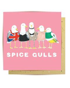 Greeting Card - Spice Gulls