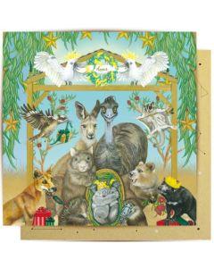 Christmas - Aussie Nativity