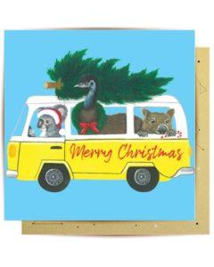 Christmas Card - Christmas Kombi