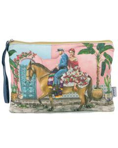 Clutch purse - Frida & Van Gough explore Mexico
