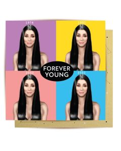 Greeting Card - Forever Young (Cher)