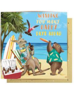 Greeting Card - Happy Beach Days