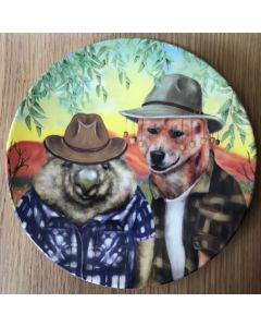 Wombat & Dingo - Single plate