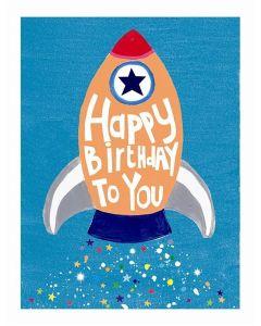 Birthday Card - Lift Off