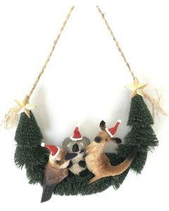 Aussie Animals - Christmas Door Hanger