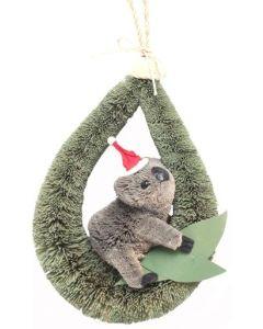 KOALA - Aussie Christmas loop hanger